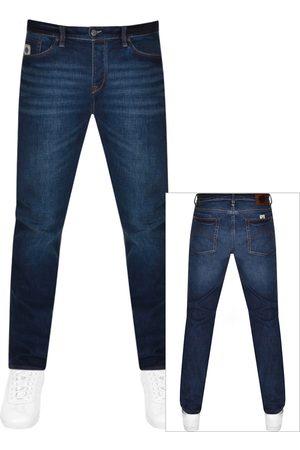 Pretty Green Erwood Slim Fit Jeans Navy
