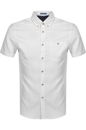 Ted Baker Men Short sleeves - Yasai Oxford Short Sleeved Shirt
