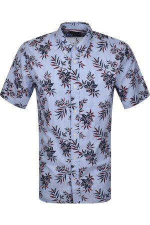 Tommy Hilfiger Short Sleeved Floral Shirt