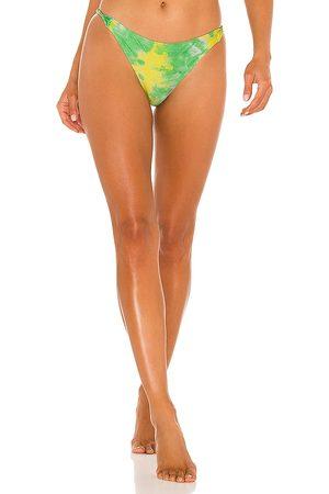 Ganni Printed Bikini Bottom in .