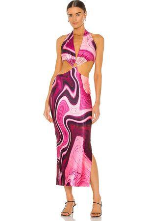 Farai London Gaia Long Dress in .