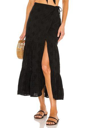 Bardot Broderie Skirt in .