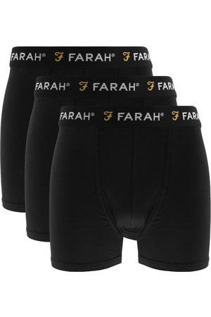 Farah Saginaw 3 Pack Boxer Shorts