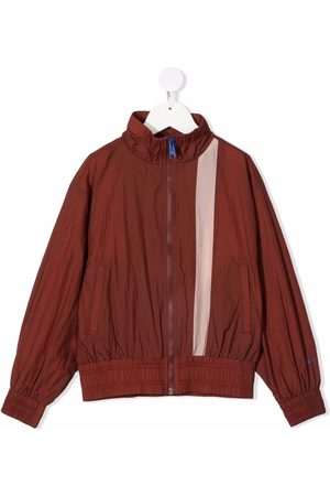 Molo Kids Stand up-collar zip-up jacket