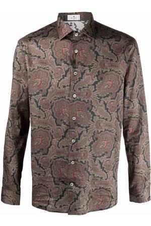 Etro Men Shirts - Paisley print shirt