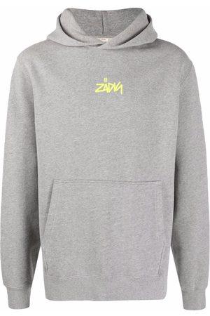 Zadig & Voltaire Sanchi photo-print hoodie - Grey