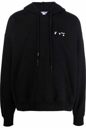 Off-White Men Hoodies - Logo-print hoodie