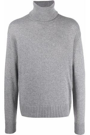 Off-White Knitted turtleneck jumper - Grey