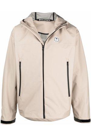 Palm Angels PXP palm patch jacket - Neutrals