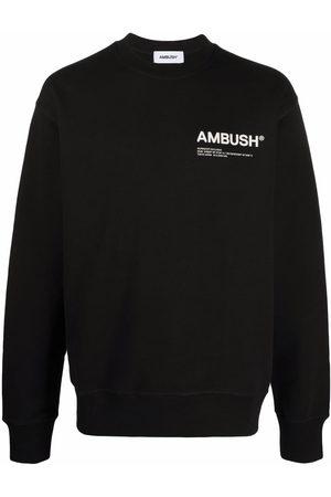 AMBUSH Men Sweatshirts - Workshop crew-neck sweatshirt