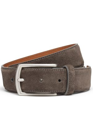 Ermenegildo Zegna Nubuck leather belt - Grey