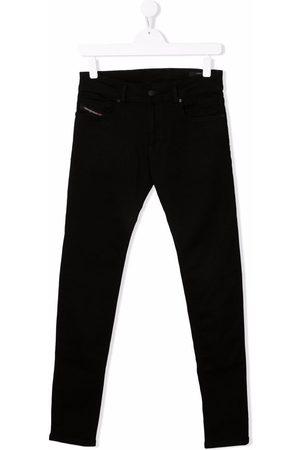 Diesel TEEN Sleenker-J high-rise skinny jeans