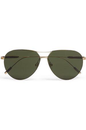 Ermenegildo Zegna Aviator-frame sunglasses