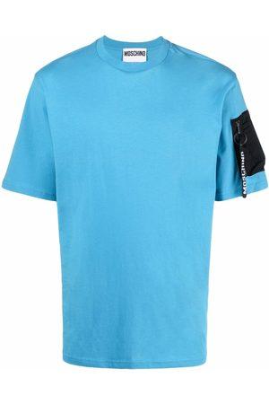 Moschino Zip-pocket short-sleeve T-shirt