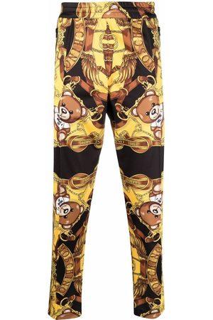 Moschino Teddy printed track pants