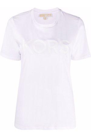 Michael Kors Women T-shirts - Logo-print cotton T-shirt