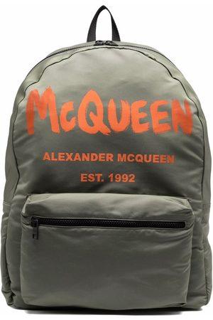 Alexander McQueen Logo-print backpack