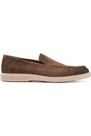 Santoni Faded-effect loafers