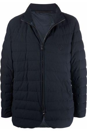 Giorgio Armani Padded zip-up down jacket