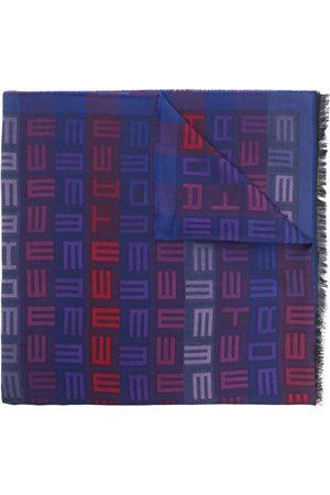 Etro Men Scarves - Logo stripe scarf