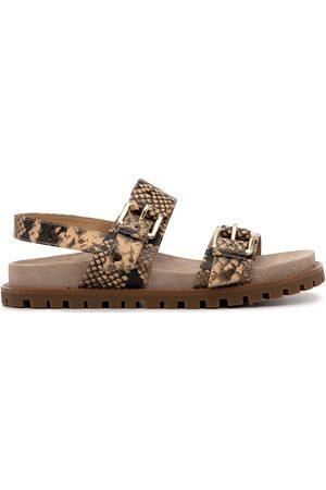 Michael Kors Judd snakeskin-effect sandals