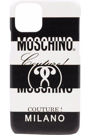 Moschino Logo-print iPhone 11 Pro case