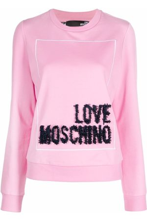 Love Moschino 3D logo sweatshirt