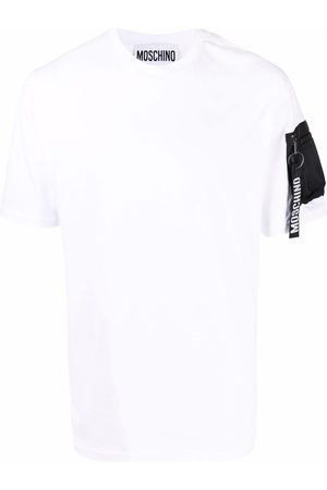 Moschino Sleeve pocket cotton T-shirt