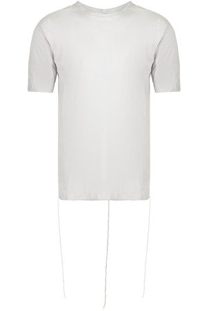ISAAC SELLAM EXPERIENCE Tape-detail short-sleeved T-shirt - Grey