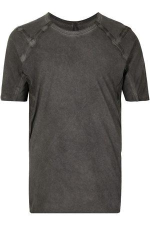 ISAAC SELLAM EXPERIENCE Acid-wash short-sleeved T-shirt - Grey