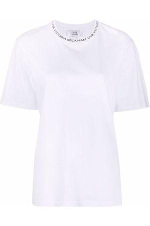 Victoria Victoria Beckham Logo-print short-sleeve T-shirt