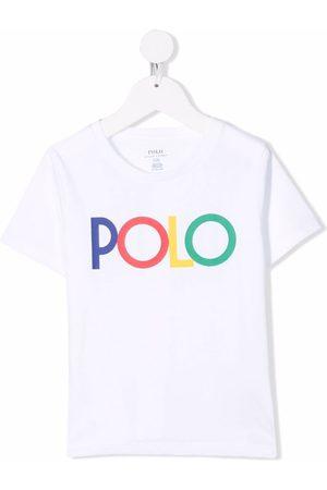 Ralph Lauren Kids Slogan-print cotton T-shirt