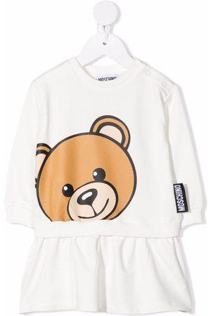 Moschino Teddy bear-print sweatshirt dress
