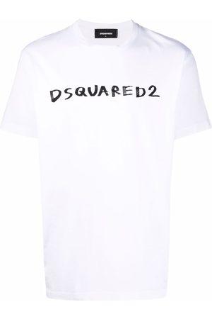 Dsquared2 Men Short Sleeve - Logo-print short-sleeved T-shirt