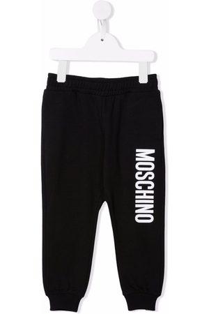 Moschino Kids Girls Sweatpants - Logo-print track pants