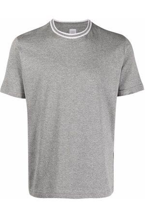 ELEVENTY Men Short Sleeve - Round neck short-sleeved T-shirt - Grey