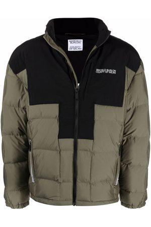 MARCELO BURLON Short padded jacket