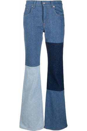 7 For All Mankind Patchwork-design jeans