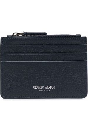 Giorgio Armani Zipped leather cardholder