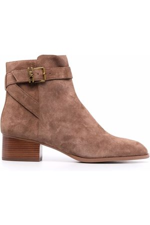 Michael Kors Women Ankle Boots - Buckle-embellished ankle boots