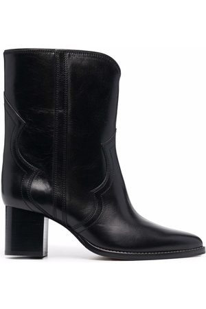 Isabel Marant Western-style pointed toe boots