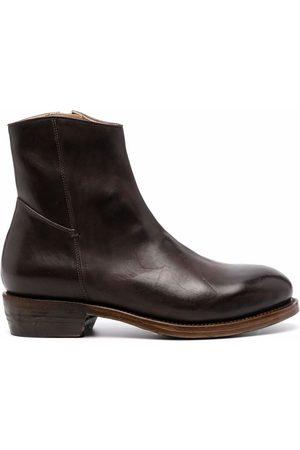 Ajmone Polished ankle boots