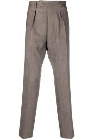 Pt01 Pleat-detail wool trousers