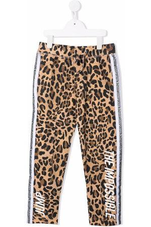 Dsquared2 Girls Leggings - Leopard-print leggings - Neutrals