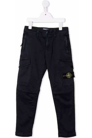 Stone Island Boys Skinny Pants - Slim-cut trousers
