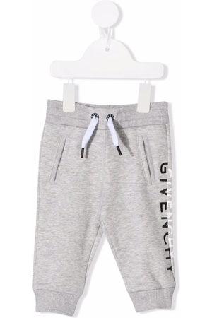 Givenchy Kids Logo-print tracksuit bottoms - Grey