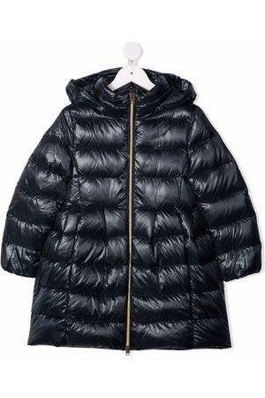 Herno Kids Girls Rainwear - Giubbini hooded down coat