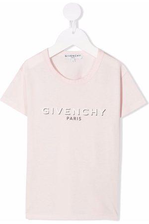 Givenchy Kids Logo-print short-sleeved T-shirt