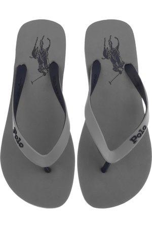 Ralph Lauren Bolt Flip Flops Grey