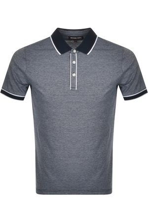 Michael Kors Tipped Texture Polo Navy